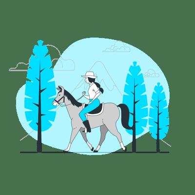 pferd-stat-turq